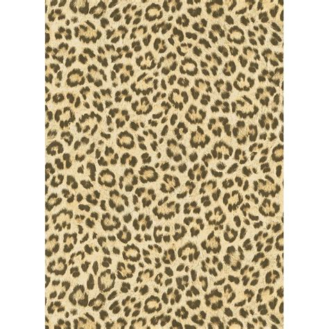 Textured Animal Print Wallpaper - leopard spots wallpaper