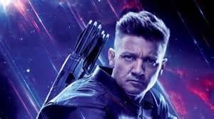 Road Avengers Endgame Jeremy Renner Hawkeye The