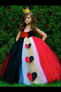 Queen of Hearts, Red Queen girls costume | Amazeballs ...