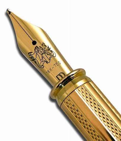 Nib Gold Pens Pen Fountain Solid Golden