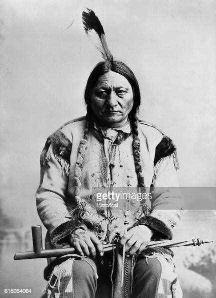 sitting bull portrait  signature pictures getty images