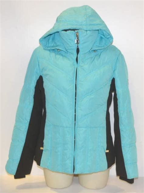 xposur size  womens teal  feather winter coat