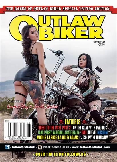 Biker Outlaw Magazine Tattoo Issue Magazines Tattoos