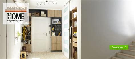 bureau etroit pour entree dressing meuble de rangement et bibliothèque spaceo home