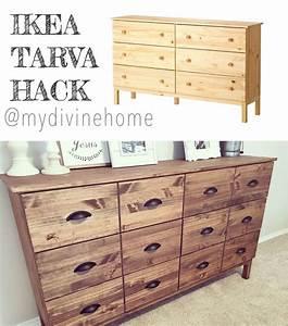 Ikea Tarva Kommode : 28 best images about ikea hacks on pinterest furniture dresser makeovers and ikea dresser ~ Markanthonyermac.com Haus und Dekorationen