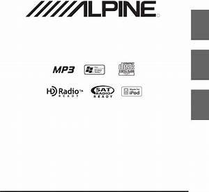 Alpine Car Stereo System Cda