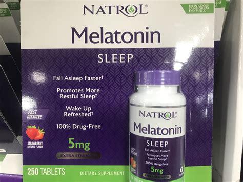 natrol melatonin  sleep wake  refreshed harvey