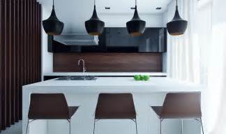 modern island kitchen designs compact modern kitchen with eat in island design olpos design