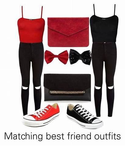 Matching Outfits Friend Outfit Polyvore Bff Friends