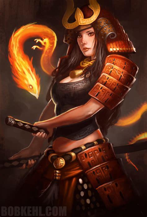 infernal samurai by bobkehl on deviantart