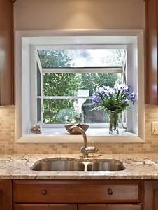 Garden window houzz for Kitchen garden windows