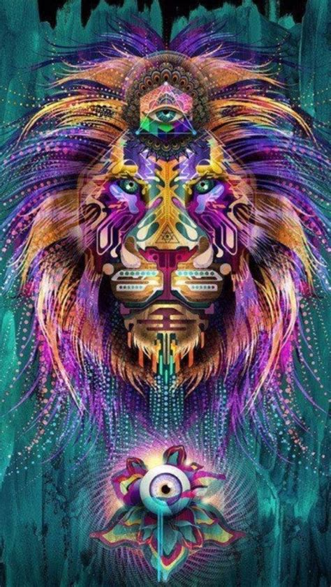 Trippy Animal Wallpaper - tap and get the free app creative trippy multicolor