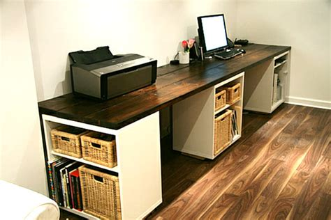 make a desk out of bookshelves 18 diy desks to enhance your home office