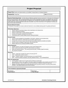 project proposal sample template free download With database proposal template