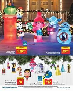 Walmart Holiday Decor & Entertaining Catalogue November 10