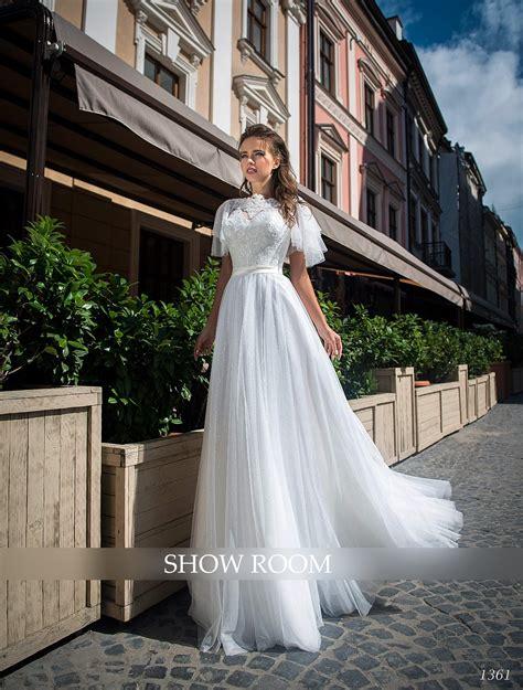 Kāzu kleitas Love Lace : Kāzu kleita satīna ar šlepi 1633