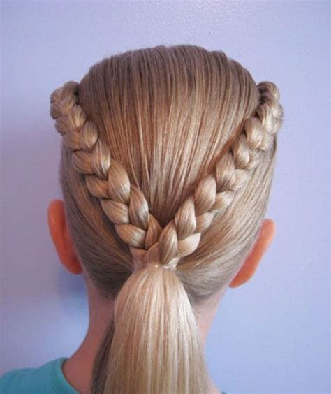 Easy Kid Hairstyles by Cool Easy Hairstyles For Easy Braids For With