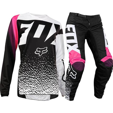motocross gear for girls new fox racing 2018 ladies mx 180 black pink womens dirt
