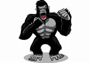 Gorilla Vector - Download Free Vector Art, Stock Graphics ...