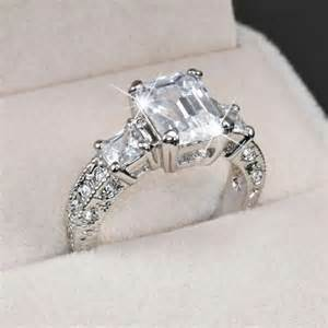low profile engagement rings low profile engagement rings 12 emerald cut ring 5074 engagement rings the best