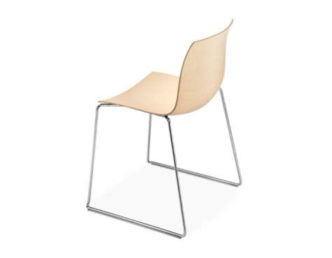 catifa 46 wood side chair with sled base hivemodern