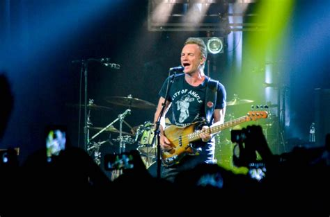 Songs are ranked based on an inverse. REVIEW: Sting lights the stage at sixth show of 57th & 9th ...