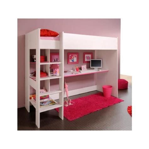 lit mezzanine bureau pas cher lit mezzanine avec bureau et rangement achat vente lit