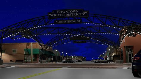 bixby downtown takes  steps planning design group