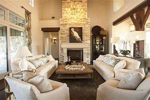 Two story living room design ideas for Home decor pictures living room 2