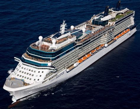Celebrity Solstice - Itinerary Schedule Current Position | CruiseMapper