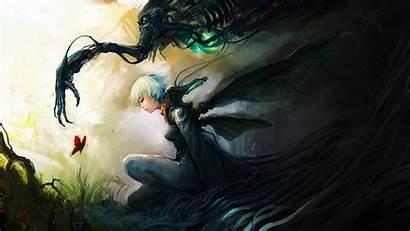Anime Deviantart Fantasy Cg Asuka111 Airbrushing Paintings