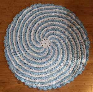 Spiral Baby Blanket Crochet Pattern By Annastasia Cruz