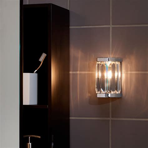 decoratively lighting up your bathroom walls warisan