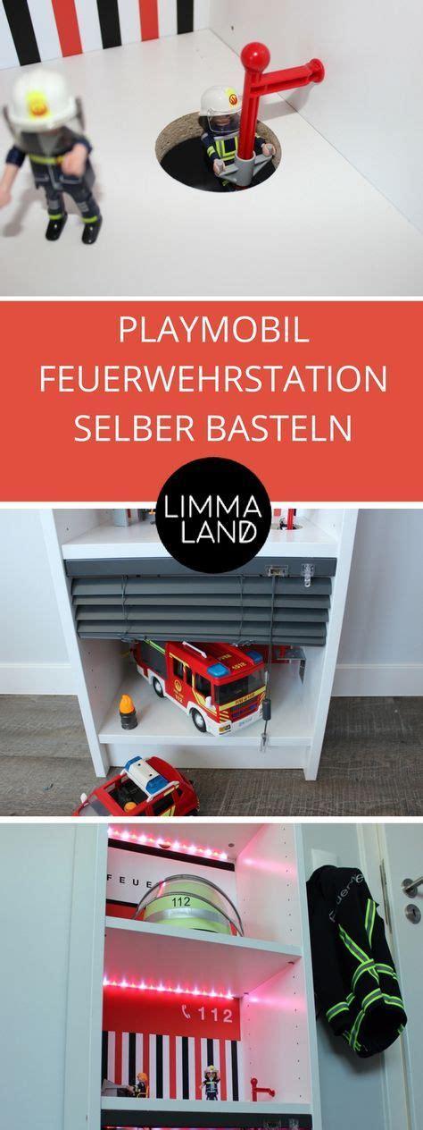 Kinderzimmer Gestalten Playmobil by Feuerwehrstation Selber Basteln F 252 R Alex