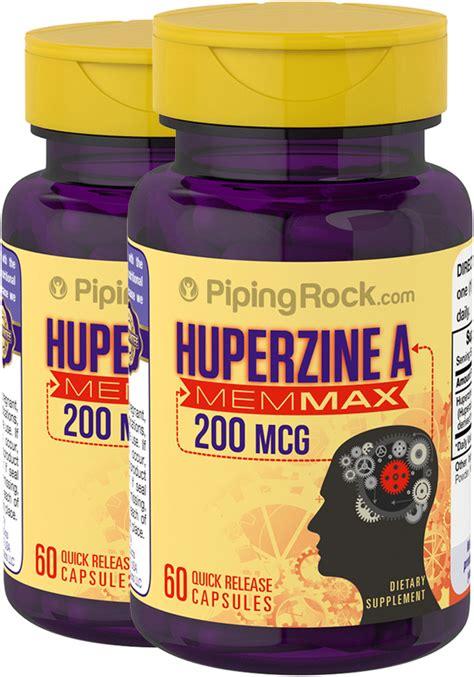 Huperzine A 200 mcg MEMMAX | Mental Function Supplements ...