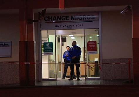 bureau de change geneve braquage au bureau de change migros de thônex rts ch
