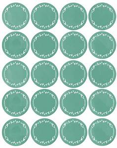 Free printable round labels. Pretty. | Free Printables ...