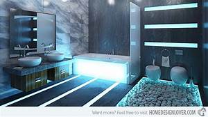 35 Stunning LED Bathroom Tile Lights Ideas