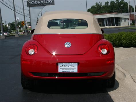 volkswagen beetle red convertible 2006 volkswagen beetle convertible