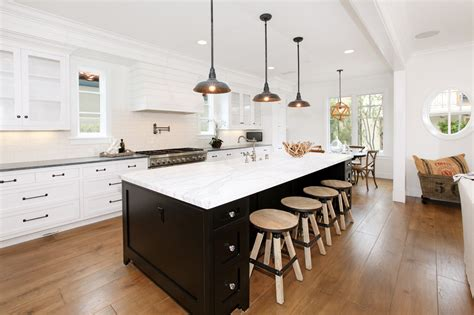 kitchen island color ideas mix and match two toned kitchen cabinets decorating