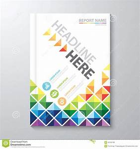 Cover Annual Report Stock Vector  Illustration Of