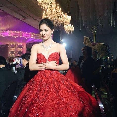 julia barretto gown julia barretto debut party filipina beauties pinterest