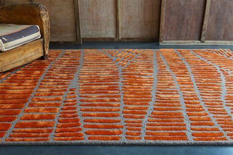 tapis gris et orange tapis orange et gris atlub