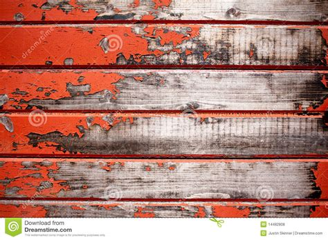 red wood texture stock photo image  paint crack