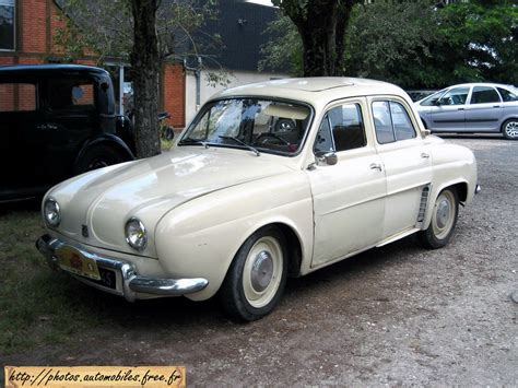 Renault Dauphine Technical Details History Photos On