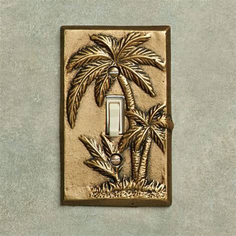 palm tree tropical decorative switchplates