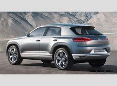 2011 Volkswagen Cross Coupe SUV Concept is Future MQB