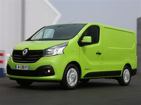 renault green renault trafic clever design and cheaper to run i