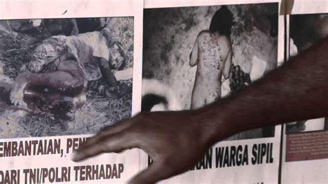 indonesian genocide  west papua youtube