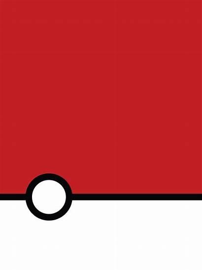 Pokemon Wallpapers Mobile Minimalist Pokeball Windows Ball